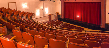 Interior of Orillia Opera House
